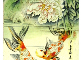Chinese Fine Line Paintings