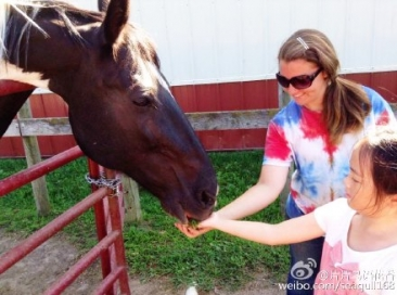 39 Maddie With Horse Riding Teacher