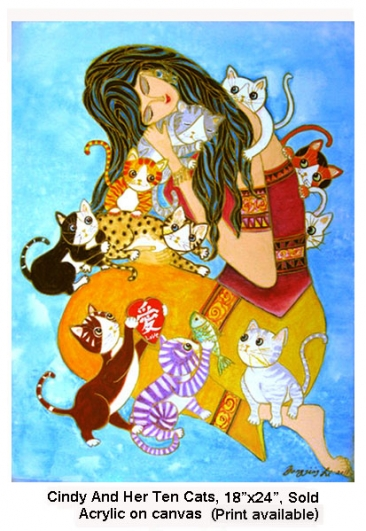 G04 Cindy And Her Ten Cats
