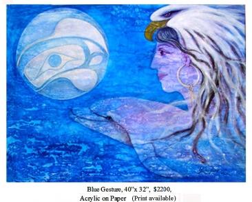 G02 Blue Gesture
